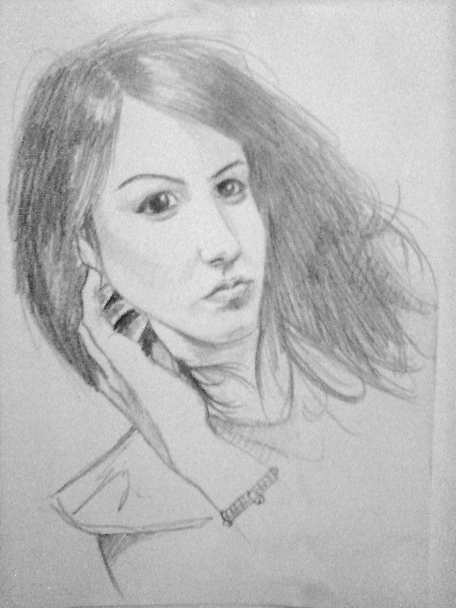 C  Teva Portrete   N Creion